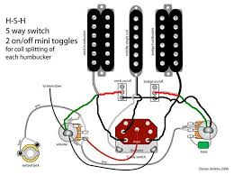 redoing hsh 5 way split buckers im not 100% sure about that 5 way switch but looking at the old diagram i think i did it right also keep in mind that i used seymour duncan color codes
