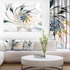 >shop white stained glass floral art large floral wall art canvas  white stained glass floral art large floral wall art canvas