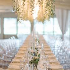 a guide to all white wedding decor