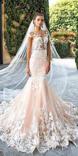 42 alluring blush wedding dresses that would have him blushing all