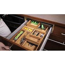 office drawer organizers. Bamboo Drawer Organizer - Stackable Organizers | The Container Store Office O