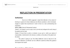 presentation reflection template pet land info presentation reflection template reflective essay on presentation ideas