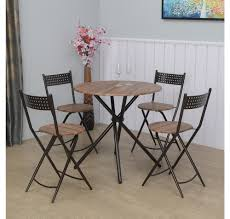 dining chairs brown. Kai 4 Seater Dining Set, Brown Chairs
