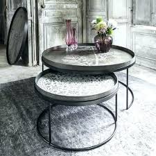 round tray table round tray table frame set of two low coffee decorative for tray tables