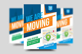 Moving Flyer Template We Are Moving Flyer Template