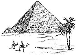 Small Picture Worldwonders Pyramid in Egypt Coloring Pages Batch Coloring