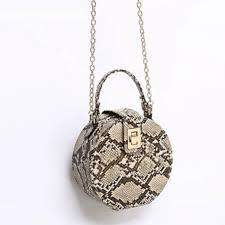 Online Shop <b>Retro Serpentine</b> Chain Round Bag Women Handbags ...