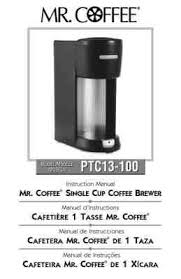 By submitting, i confirm i have read and accept your privacy statement and i would like to receive marketing and/or promotional emails from mr. Mr Coffee Coffeemaker Ptc13 100 Download User Guide For Free 67e79 Manual Guru