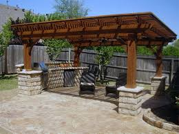 kitchen outdoor patio kitchen ideas outdoor stone bars with built in grills sinks and umbrella