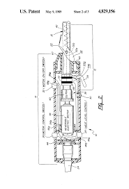 patent us4829156 electric curling iron having a reversible motor patent drawing