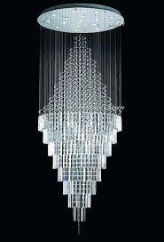 modern crystal chandelier flush mount ceiling light rain drop chandeliers