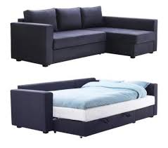 MANSTAD Sectional Sofa Bed Storage from IKEA Apartment Therapy