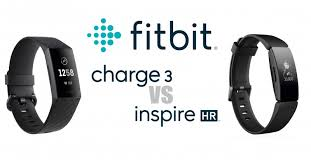 Fitbit Charge Hr Vs Fitbit Charge 2 Comparison Chart Fitbit Charge 3 Vs Inspire Hr Which Is Better