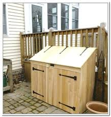 outdoor trash can storage cabinet outdoor trash can storage cabinet outdoor garbage can storage cabinet