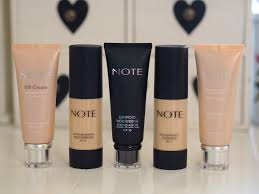 Five Note Cosmetics Foundations Review Comparison Before