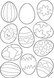 Kleurplaat Voor Paaseieren Színező Easter Crafts Easter En