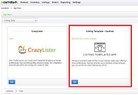 Listing Template How Do I Use The Listing Template Cardinal App Ecomdash Support