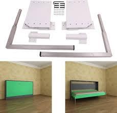 diy murphy wall bed springs mechanism hardware kit horizontal wallbed mounting white