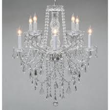 graceful swag crystal chandelier 8