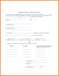 Proof Of Employment And Salary Letter Template Proof Of Employment