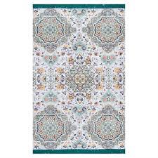 nuloom lilac flatweave cotton lina mosaic tassel area rug lowe s canada