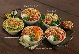 El Pollo Loco Nutrition Chart New 5 Pollo Bowl Combos At El Pollo Loco Brand Eating