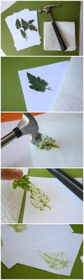 diy leaf st is a photo craft tutorial using the natural pigment in leaves to make a st on stationary or other surfaces my diy tips