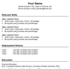 How To Write A Basic Resume For A Job How To Make A Basic Resume Resume Paper Ideas 44