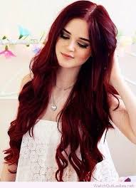 Perfect Deep Red Hair Color Inspire Hair Pinterest Hair Dyed