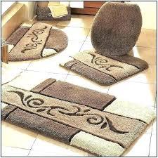 farmhouse bathroom rugs crochet bath rugs from morning