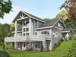Stone Farmhouse Designs Plan 35516gh Mountain House Plan With Dramatic Window Wall