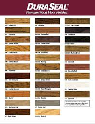 Duraseal Stain Chart 10 Template Format