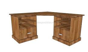 corner desk plans. Fine Corner To Corner Desk Plans D