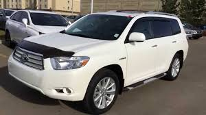 Pre Owned White 2008 Toyota Highlander Hybrid 4dr Limited Review ...