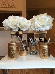 diy mason jars with spray paint pots mason et peinture en spray