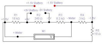 battery tester circuit diagram the wiring diagram 1 5v and 9v battery tester schematic design circuit diagram