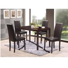 Overstock Living Room Sets Simple Living Bettega Parson 5 Piece Dining Set Free Shipping