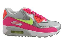 nike running shoes for girls. nike air max 90 ltr (gs) older kids girls sport shoes running for t