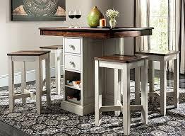 Shea 5-pc. Counter-Height Dining Set 3-pc, 5-pc \u0026 7-pc Sets   Glass, Formal Modern