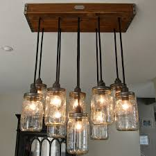 unique diy lighting diy glass pendant light adore diy hanging mason jar