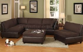 ... Finish Leather Chocolate Brown Sofa Rod Curved Extra Room Space Made  Hair Tools Wall Mounted Brushed ...