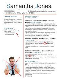 Examples Of Bad Resumes Template Lezincdc Com