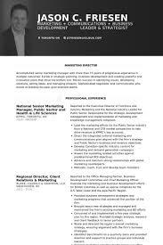 Resume Marketing Manager Free Resume Templates 2018