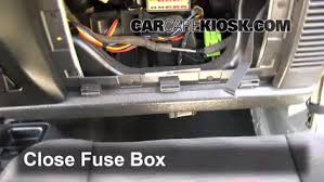 interior fuse box location jeep wrangler jeep interior fuse box location 1997 2006 jeep wrangler 2004 jeep wrangler sport 4 0l 6 cyl