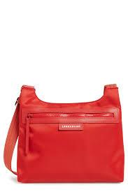 image of longch le pliage neo crossbody bag