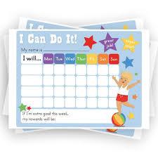 I Can Do It Chart Printable Boys Reward Chart Chore Chart Printable Sticker Chart