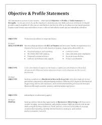 Strong Resume Objective Statements Best Resume Career Free Images On