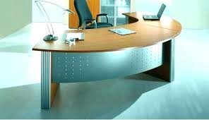 office table ideas. Office Table Design Ideas. Rounded Corner Desk Round With Curved Ideas 5 L