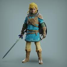 Nintendo hasn't slapped a number on a zelda sequel since the experimental zelda ii: Link The Legend Of Zelda Breath Of The Wild Fanart Zbrushcentral