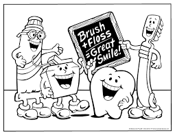 Small Picture Free Dentist Coloring Page VoteForVerdecom Coloring Home